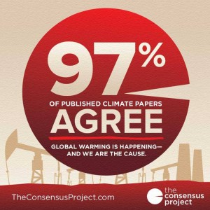 97 scientist consensus global warming