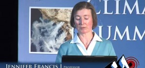 Jennifer Francis: Wacky Weather and disappearing Arctic Sea Ice are they connected?