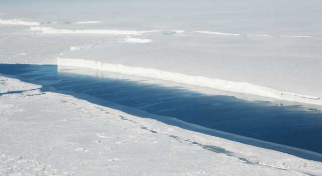 Antarctic Ice Shelves Melt Mostly From Below