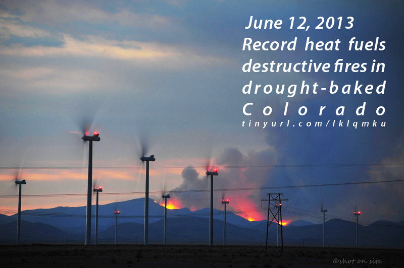 Record heat fuels destructive fires in drought-baked Colorado ...