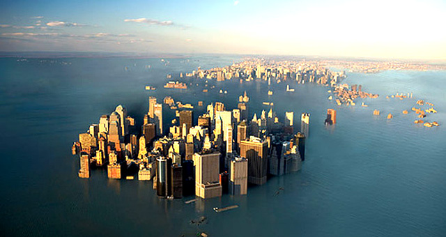 Each degree of global warming might ultimately raise global sea levels by more than 2 meters