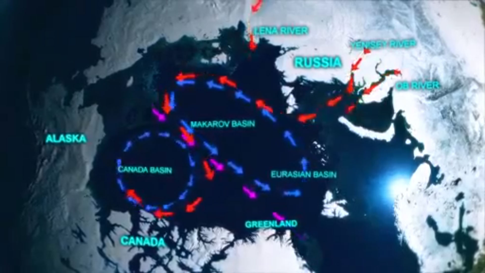 Does Freshwater Runoff in the Arctic change Ocean Circulation to Unlock Methane Hydrate in the Deep Ocean?