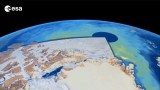 ESA Cryosat Animation of Arctic Sea Ice Thickness 2010-2013 with commentary