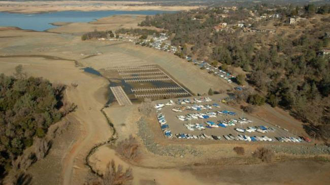 Stunning Before and After Photos of California's Lakes Depleted by Extreme Drought