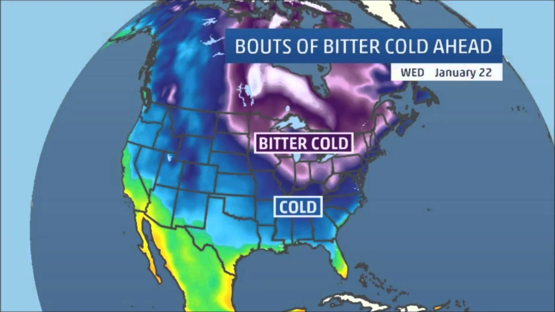 Polar Vortex to Collapse and Flood Eastern US With Arctic Air