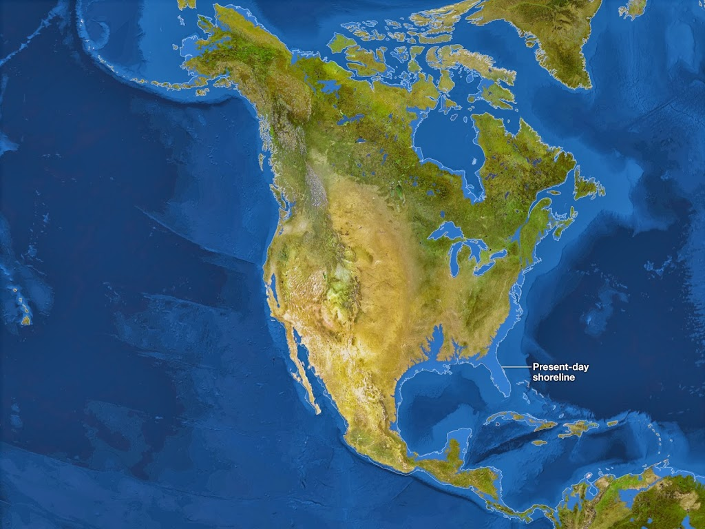 The Earth without Ice (Deglaciation - Sea Level Rise)