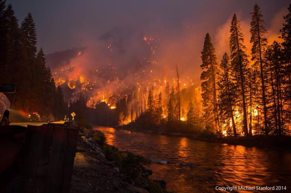 Extreme Weather July 2014 United States - Record Flames and Record Floods Across the Nation