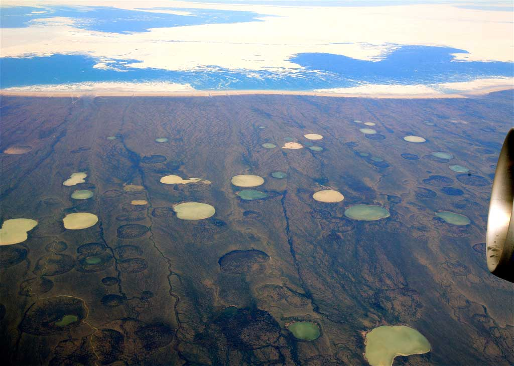 Experts: Arctic craters could be 'Visible Effect' of Global Warming