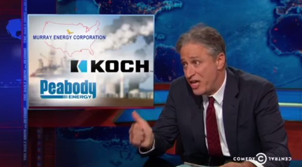 Jon Stewart Spanks House Science Committee for Stupidity on Climate Change (9/22/2014)