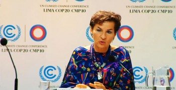 UN official calls fossil fuels 'high-risk' investment Lima 2014 UNFCCC #TurningPoint #COP20