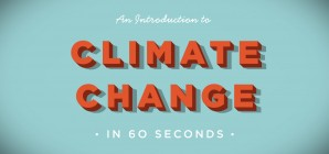 Royal Society: An introduction to climate change in 60 seconds