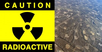 Once you have a release of fracking fluid into the environment, you end up with a radioactive legacy