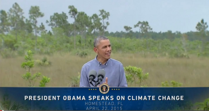 President Obama's Earth Day Speech 2015