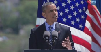 EXCERPT: Obama talks Risks to National Security from Climate Change at US Coast Guard Academy 2015