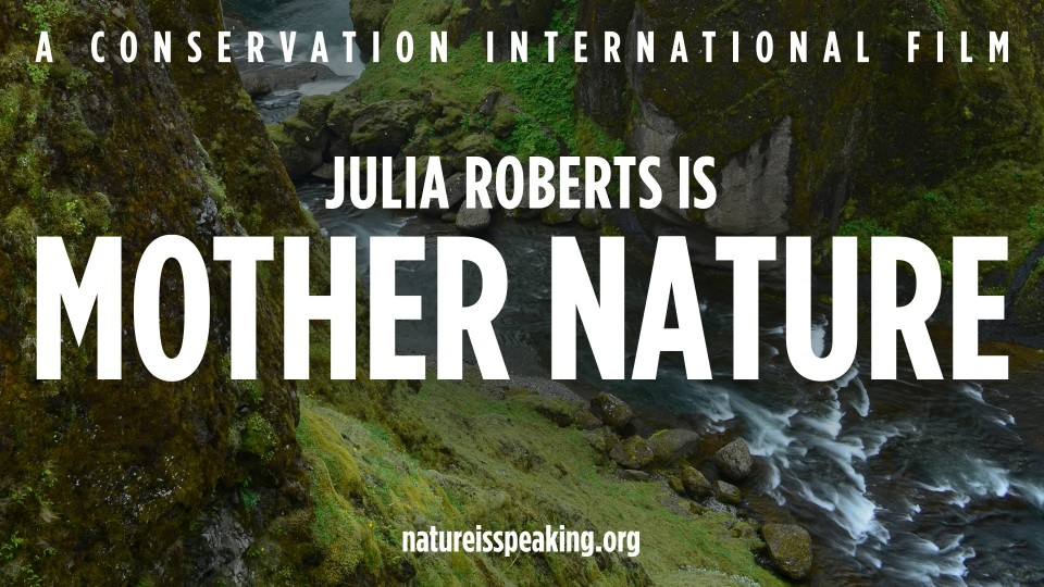 Julia Roberts in the most powerful video about climate change