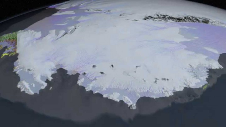 NASA Antarctic Ice News about Glacier Retreat