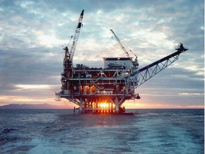 The history of Offshore drilling