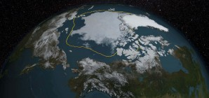 Arctic Sea Ice Reaches 2015 Minimum Extent