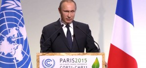 Putin: Climate Change one of the greatest challenges humanity faces #COP21