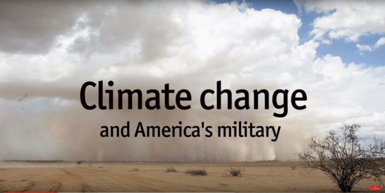 Warriors and weather: Climate change and national security in America