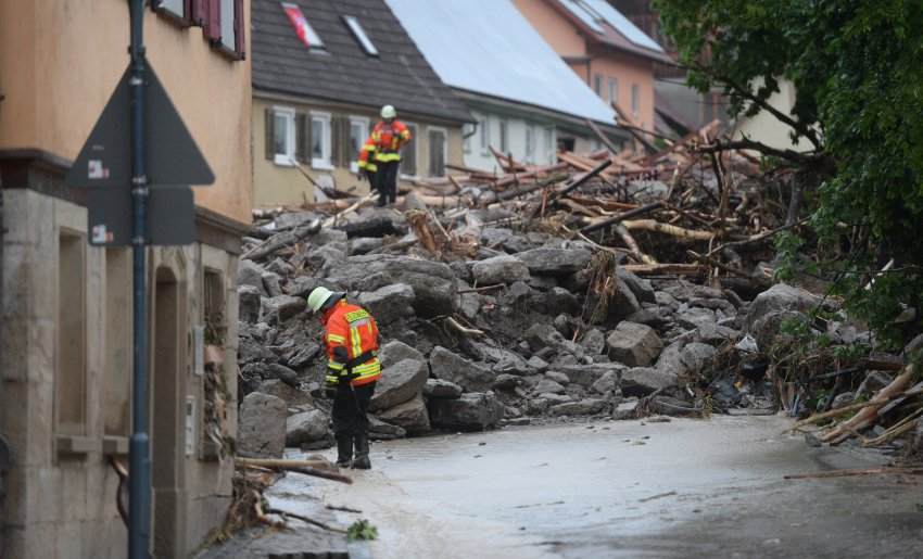 Another deluge hits frontpage news, this time in Germany