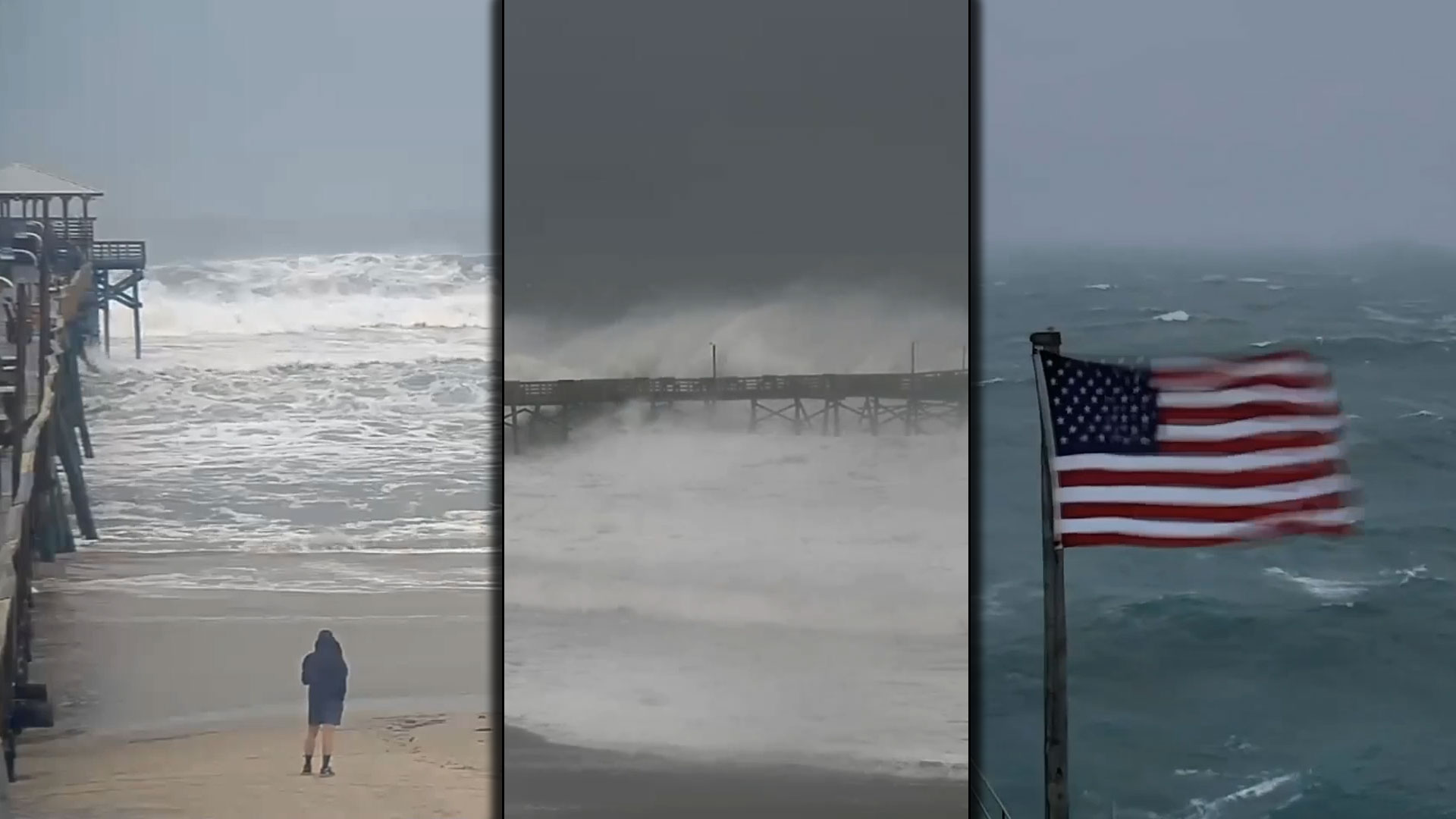 Frying Pan Ocean Cam Hurricane Florence